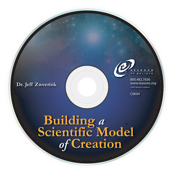 Building a Scientific Model of Creation (Audio CD) Image