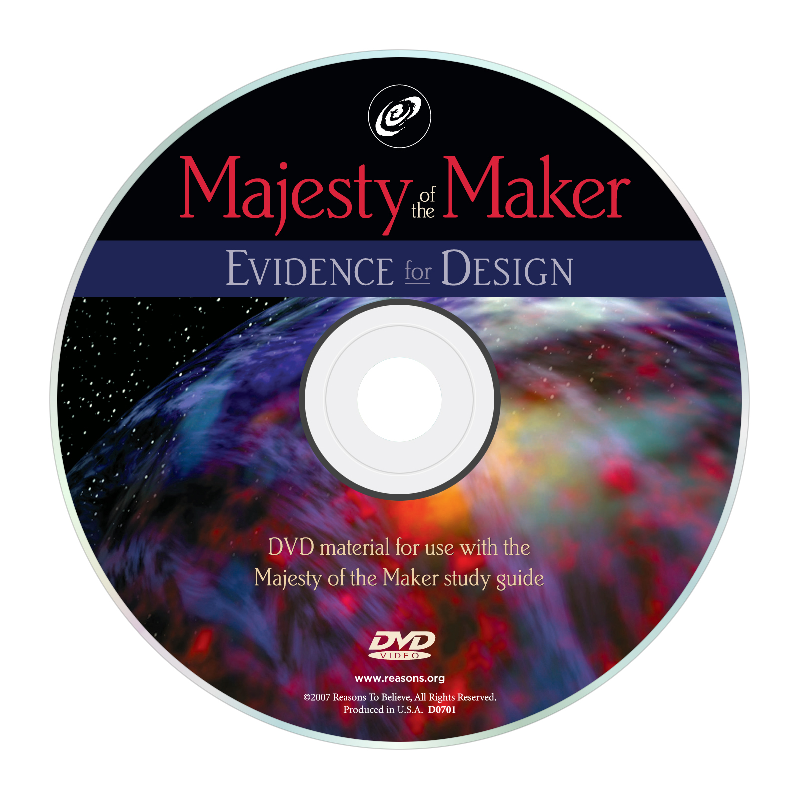 Majesty of the Maker: Evidence for Design Study Guide (Companion DVD): Ken Hultgren Image
