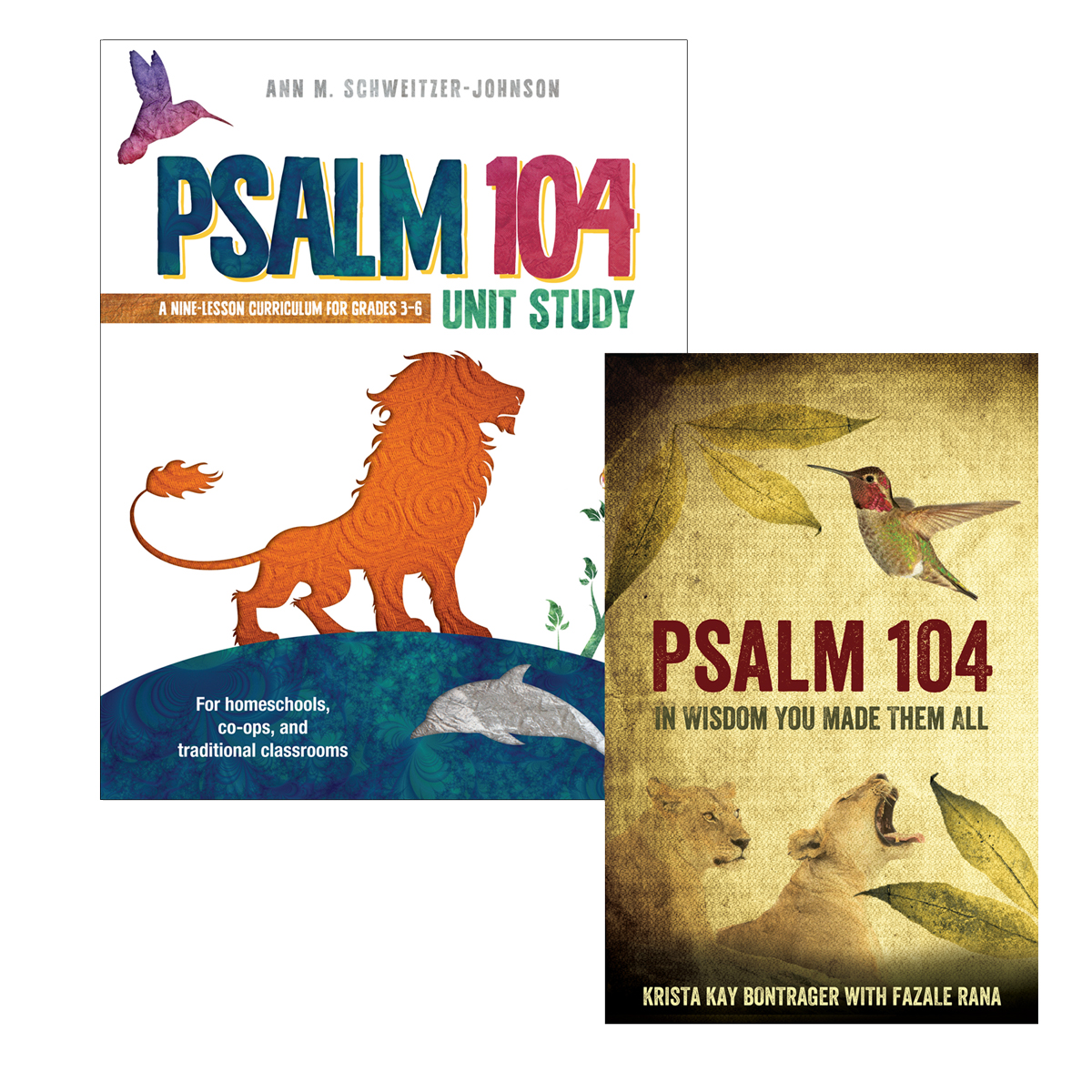 Psalm 104 Unit Study Complete Package (softcover) Image