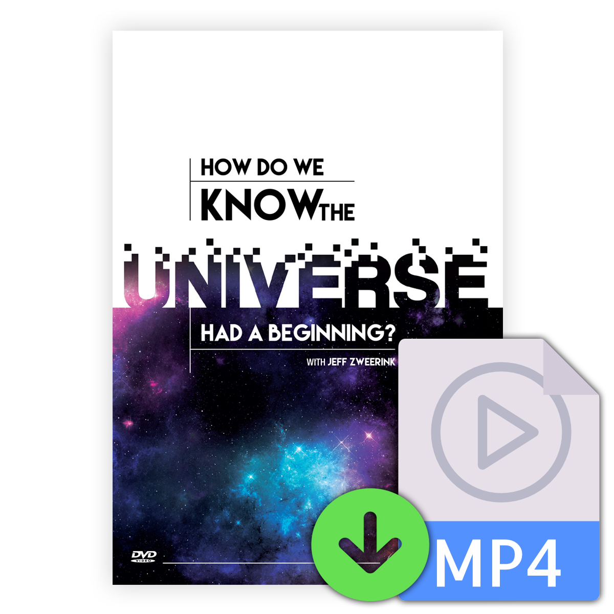How Do We Know the Universe Had a Beginning? [Downloadable Video] Image